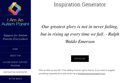 Inspiration Generator - Quotes Example App